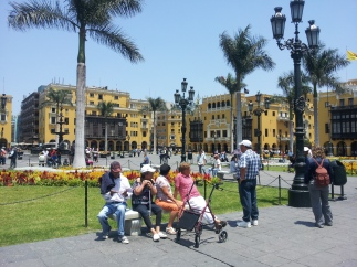 In the centre of Lima