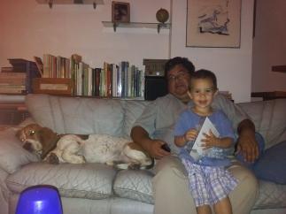 My dear friend Lalo and his beautiful son Arturo