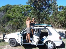 The first car we shared and died on the road after too many kms