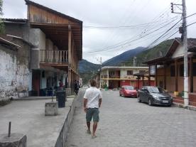 Vilcabamba town centre
