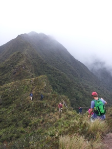 Like this one, we reached many mountain tops