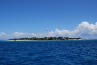 Amedee lighthouse island N.C.