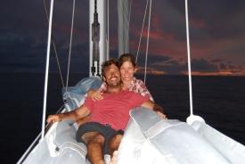 happy while the seas are calm