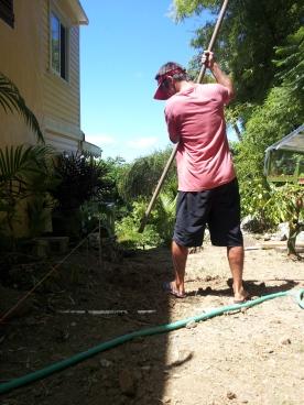 digging and digging!
