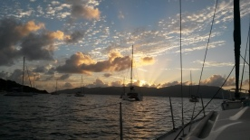 Sunrise at Manchioneel Bay, Jost Van Dyke