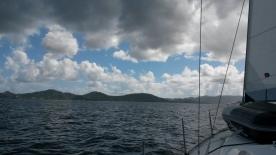 Sailing back to Tortola