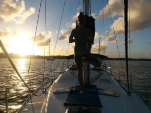 Yoga onboard