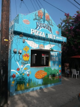 The real Pizza Hut, Bequia
