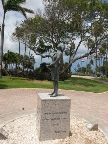 Statue of Anne Franck