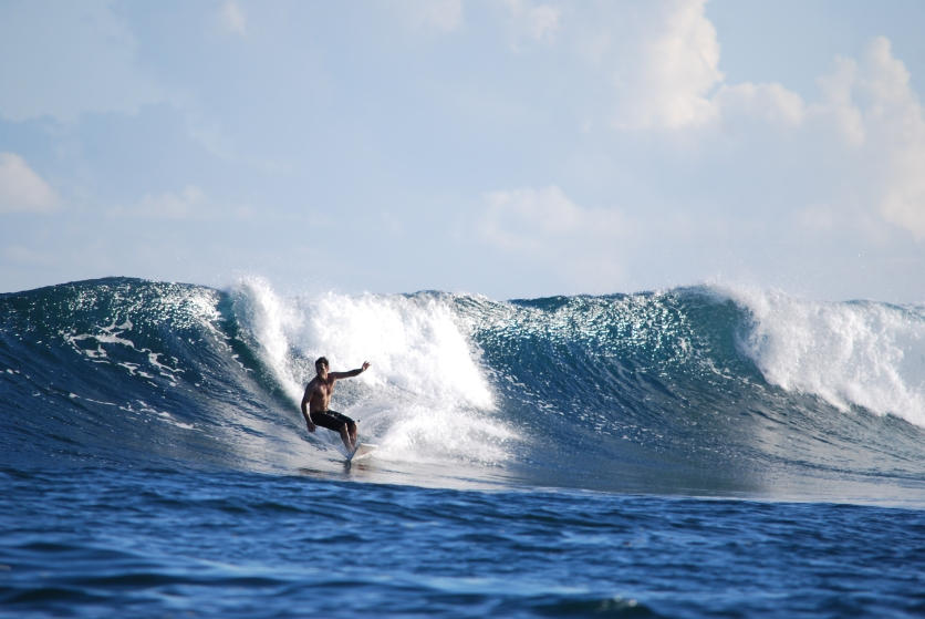 Mick in Samoa