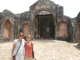 With Ilona