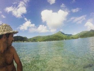 Exploring the island